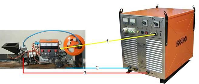 Схема подключения автомата