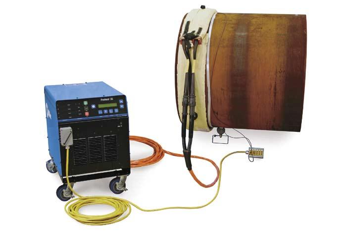 Система индукционного нагрева с воздушным охлаждением